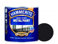 Краска антикоррозийная Hammerite 3 в 1 гладкая Черная полуматовая - интернет-магазин tricolor.com.ua