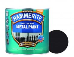 Краска антикоррозийная Hammerite 3 в 1 сатин Черная полуматовая