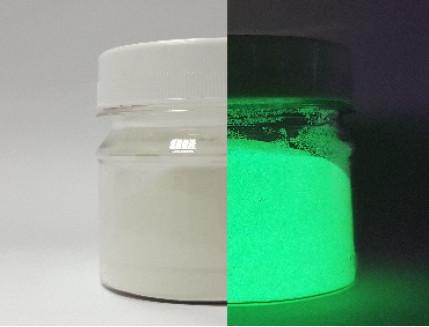 Пигмент Люминофор зеленый Tricolor 5-15 микрон - изображение 2 - интернет-магазин tricolor.com.ua