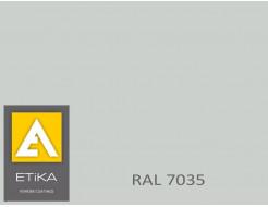 Краска порошковая полиэфирная Etika Tribo Светло-серая RAL 7035 шагрень