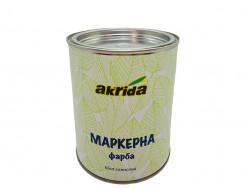 Краска интерьерная маркерная Akrida белая - интернет-магазин tricolor.com.ua