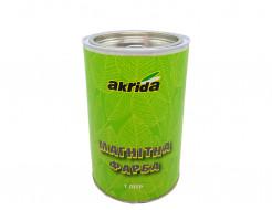 Краска интерьерная магнитная Akrida серая - интернет-магазин tricolor.com.ua