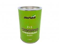 Интерьерная магнитно-грифельная краска Akrida 2 в 1 черная