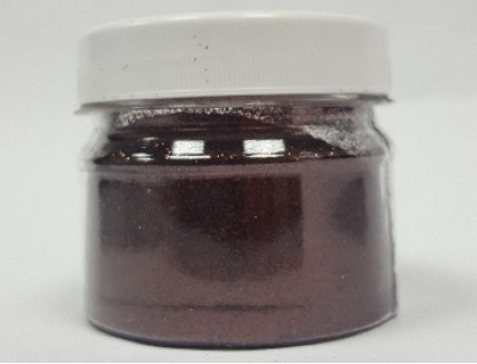 Глиттер GBROWN/0,2 мм (1/128) коричневый Tricolor