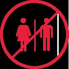 No restrooms / toilet facilities at Telferton.