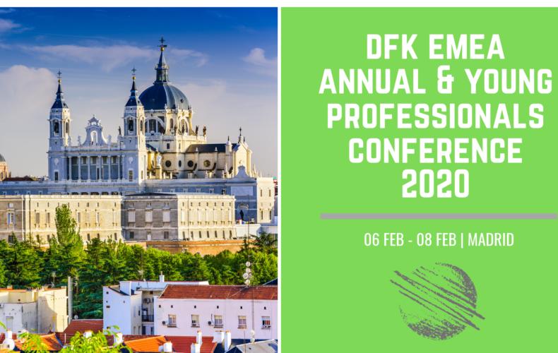 DFK EMEA ANNUAL CONFERENCE 2020