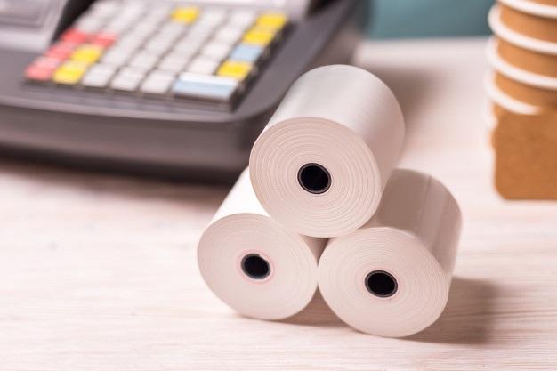 Cash register paper rolls 181654 1892