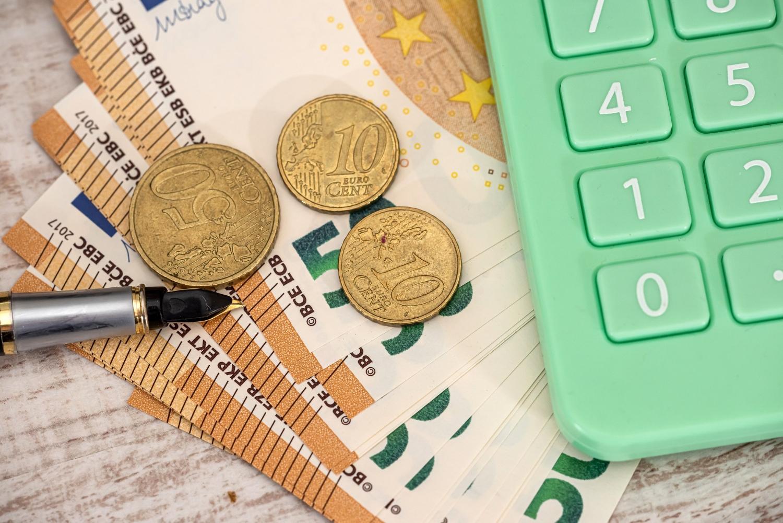 Financial count exchange concept
