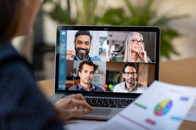 Smart working video conference 256588 19