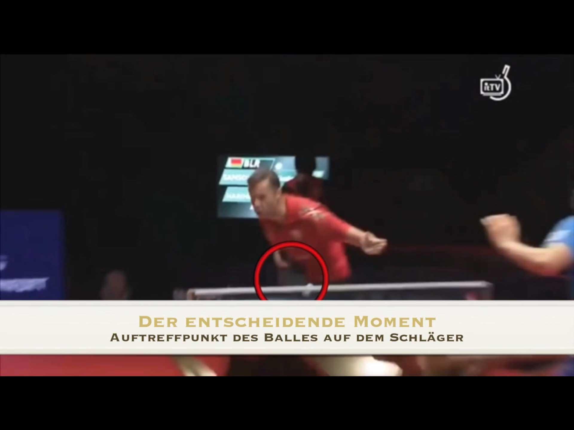 Tischtennis Rückschlag Training beim TT-Coach