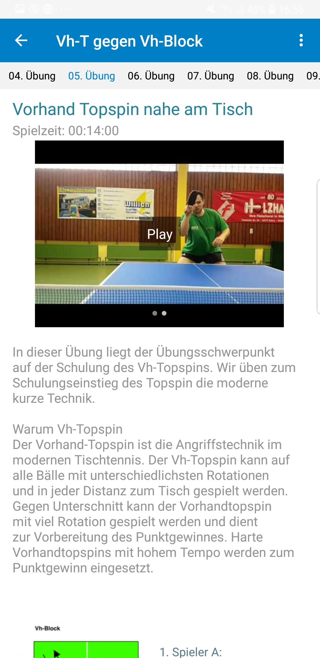 TT-Coach App Übung 2