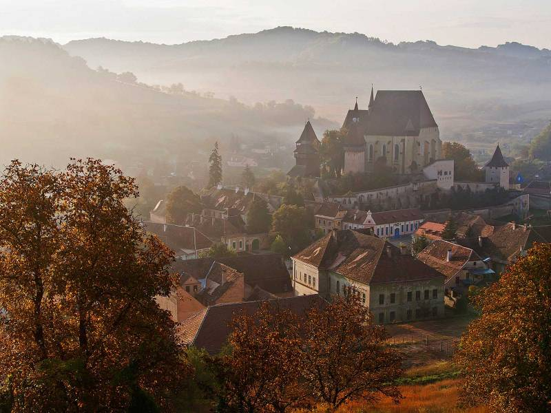 The Road of the Fortified Churches