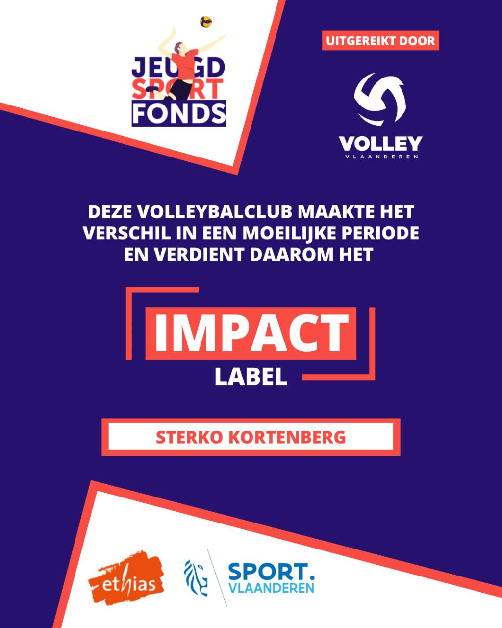 Sterko Impact Label
