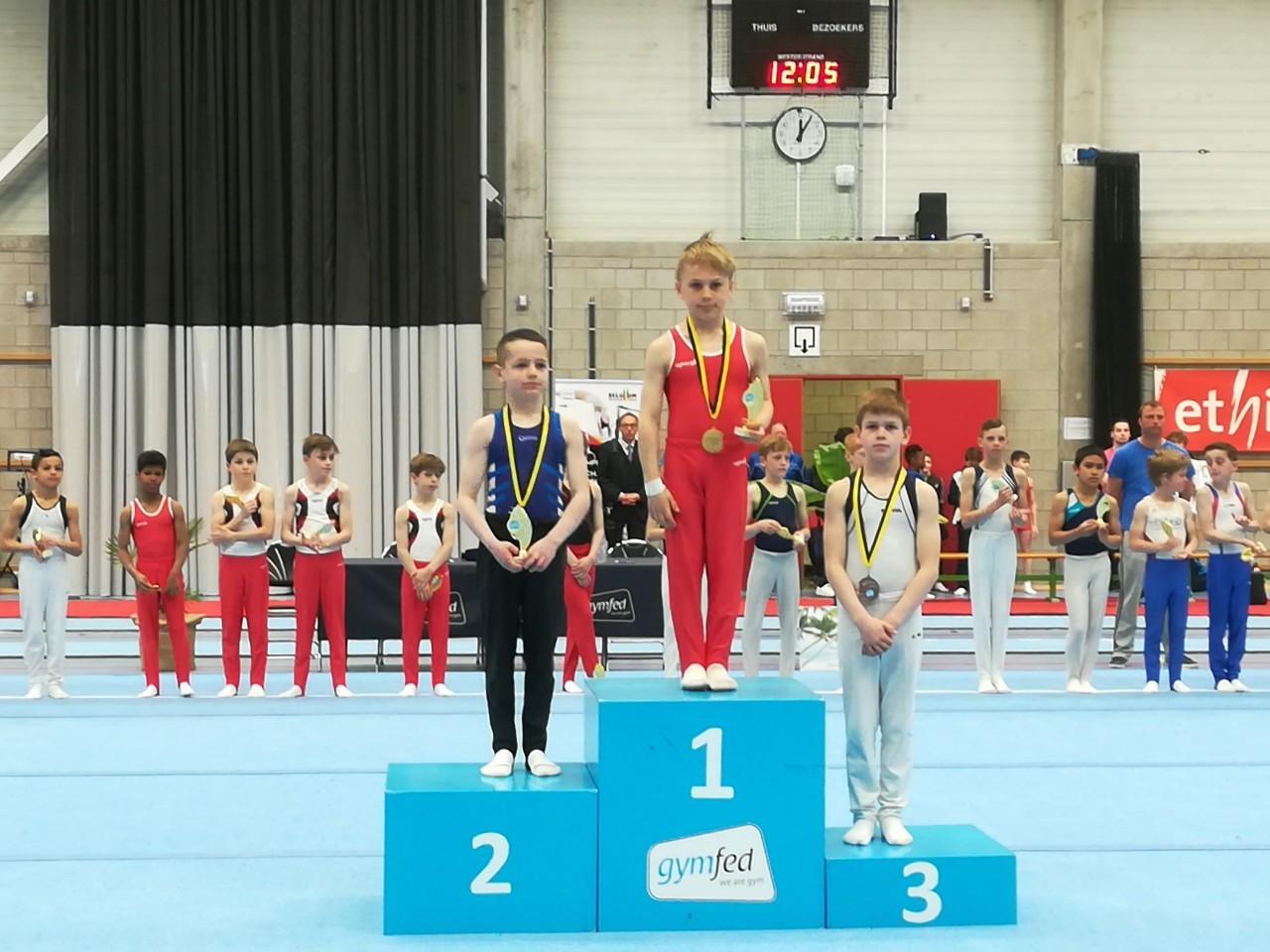 Yarne Vlaams kampioen!