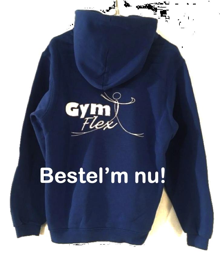 GymFlex hoodie - bestel'm nu!