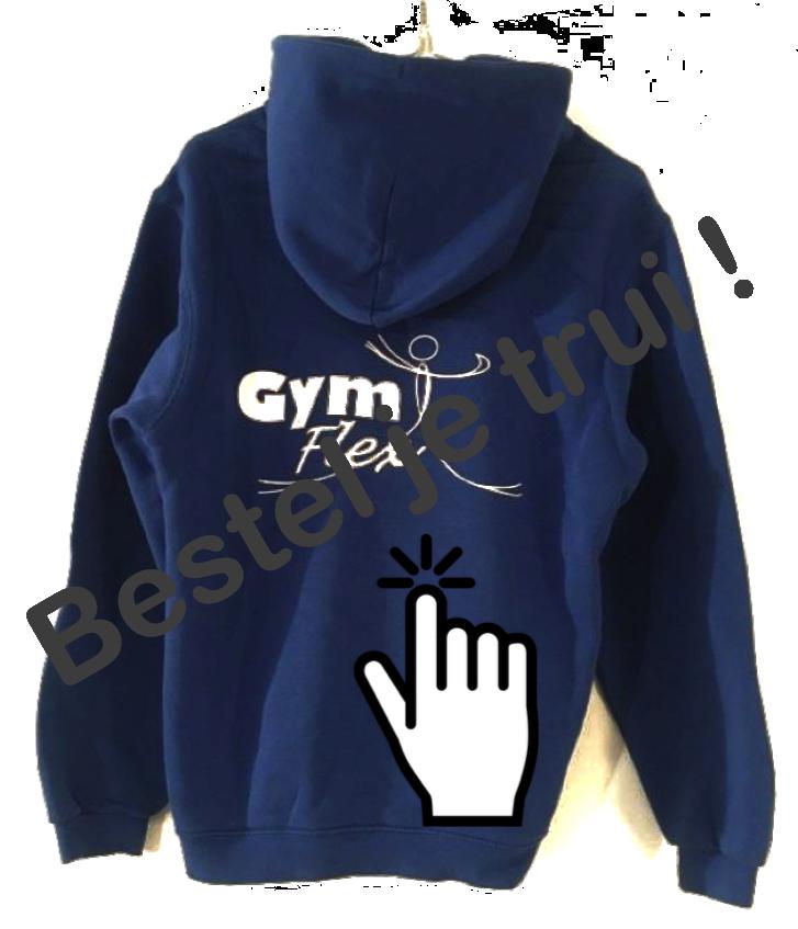Link naar het bestelformulier van de GymFlex hoodie