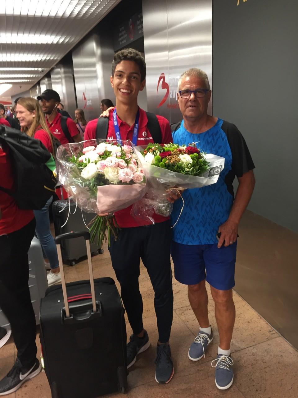 WK U20 Tampere terugkeer Zaventem