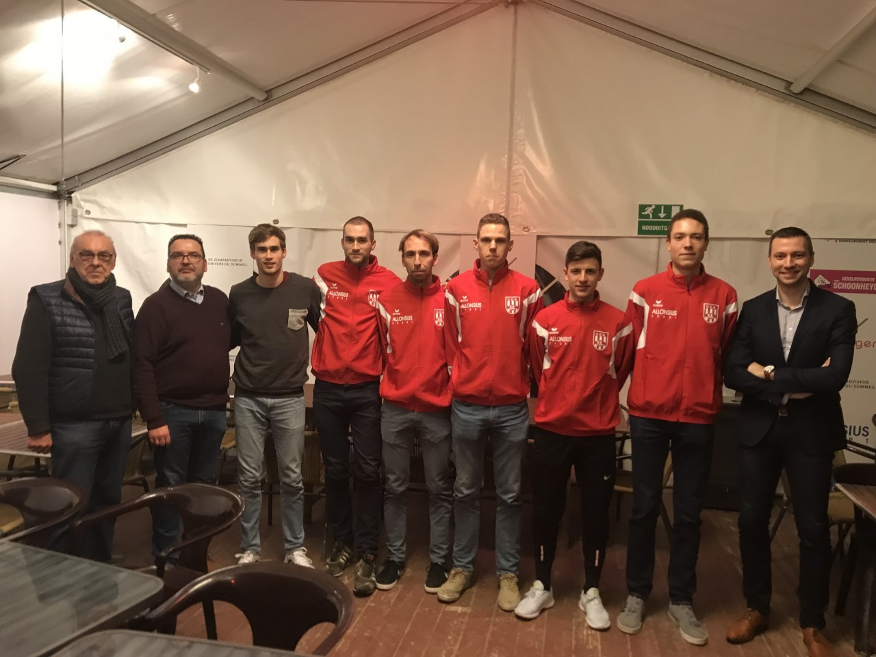 Ploegsamenstelling ECCC 2019 Albufeira