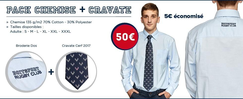 2017 Pack Chemise Cravate