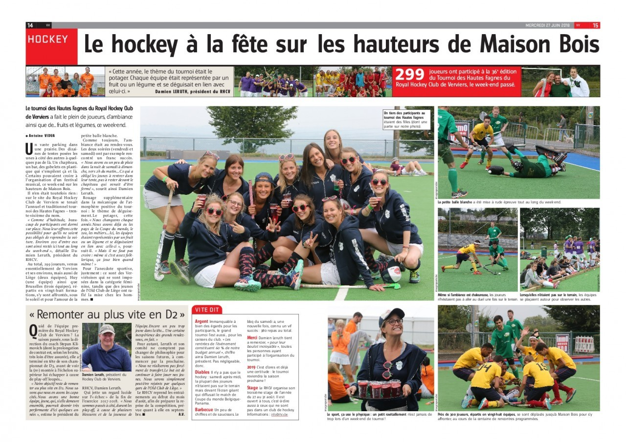 Application de rencontres de hockey