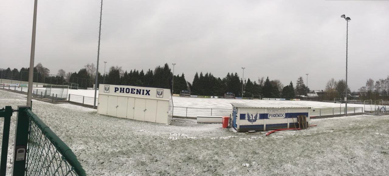 Phoenix hockeyveld dd 17/03/2018