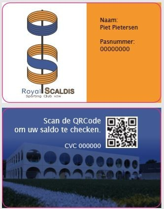 Clubkaart Scaldis