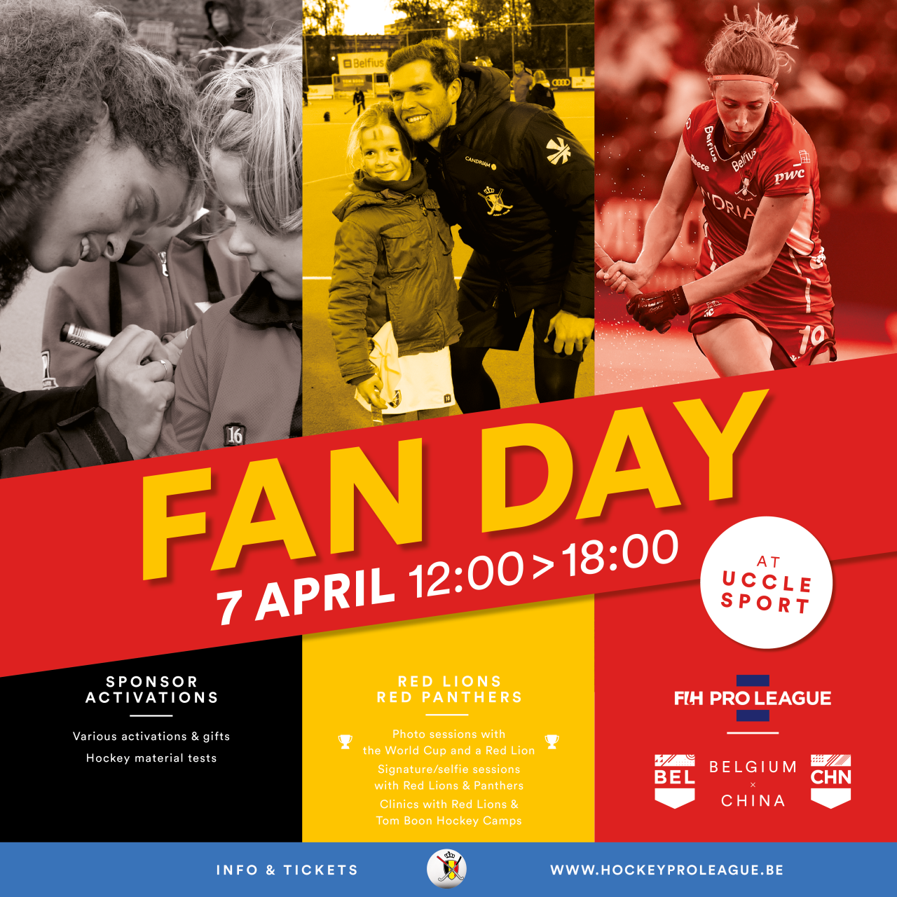 Fanday red panthers red lions