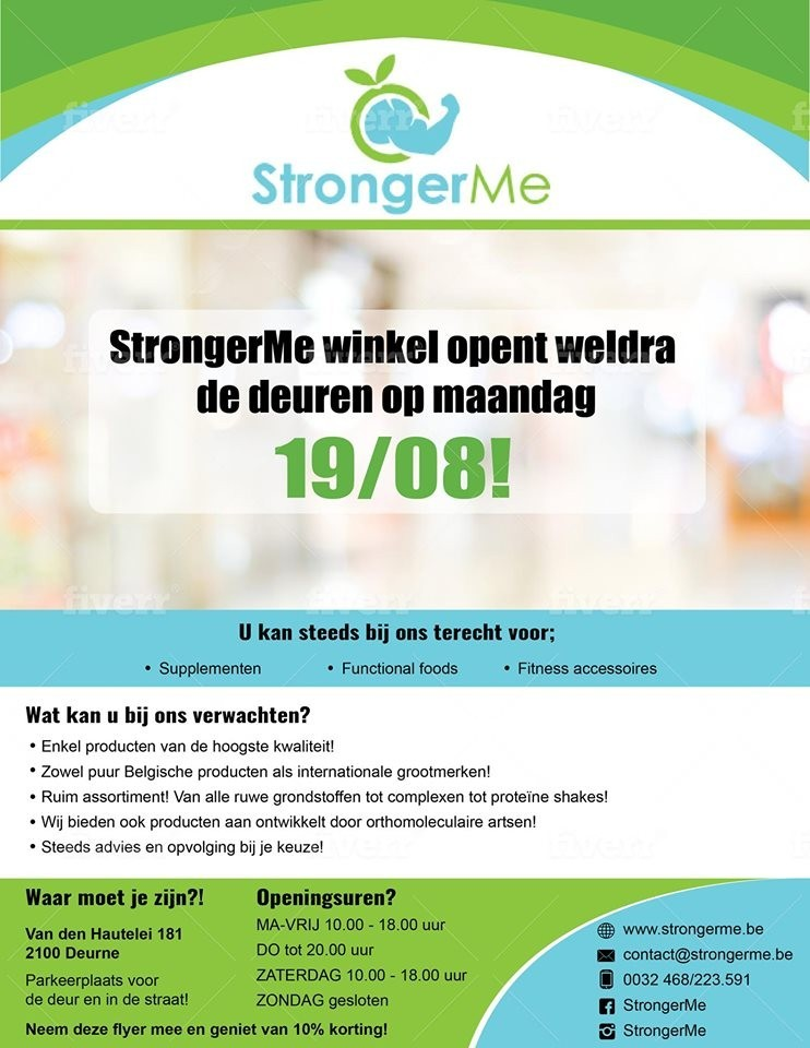 Opening StrongerMe