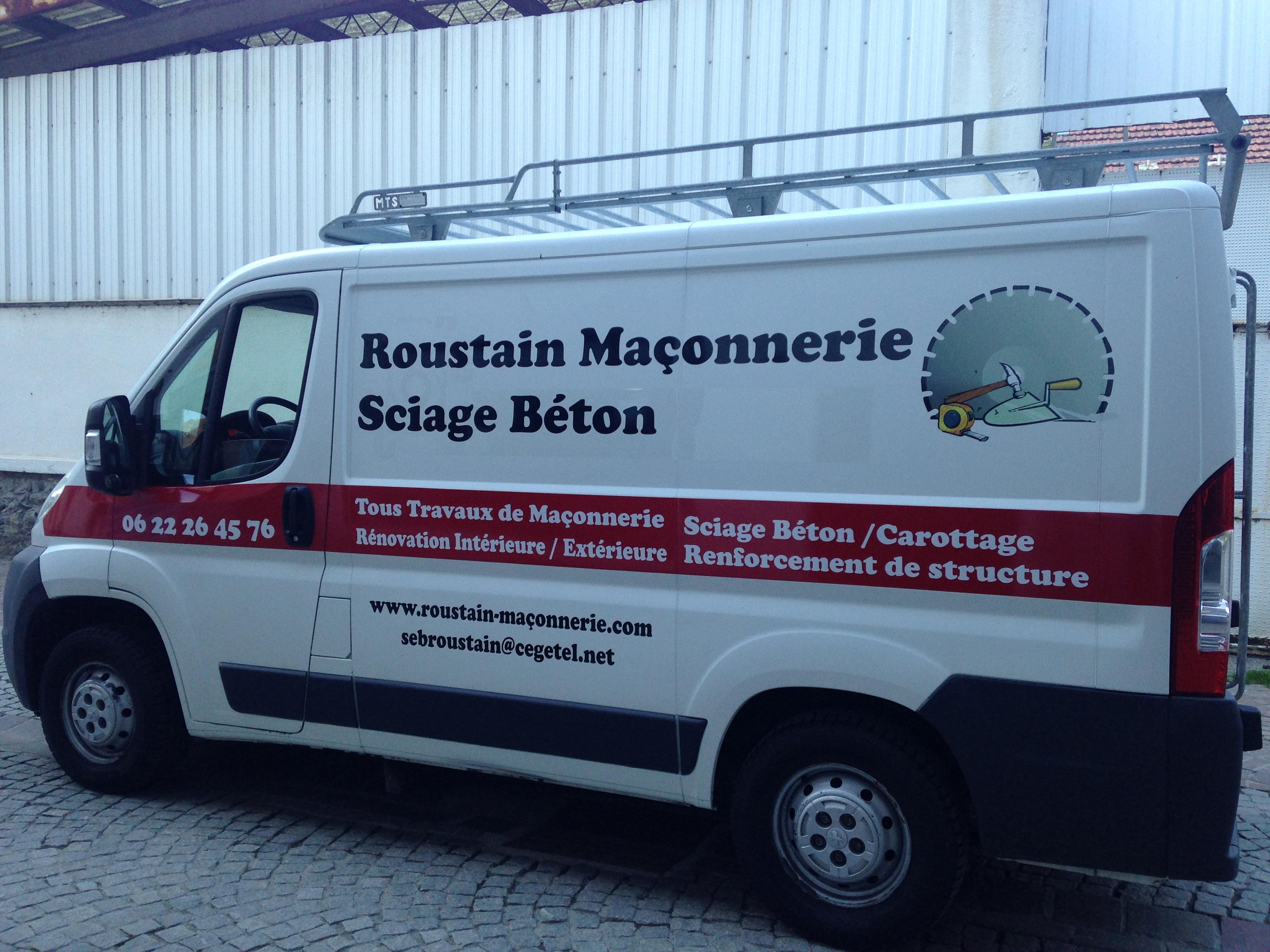 Roustain Maçonnerie Sciage Béton