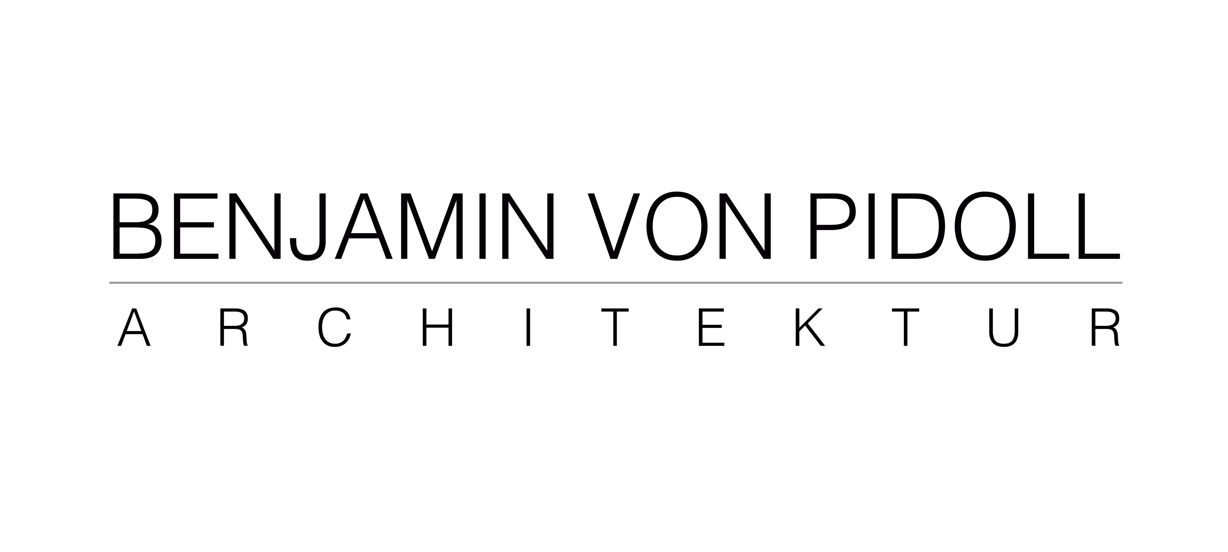 BENJAMIN VON PIDOLL ARCHITEKTUR