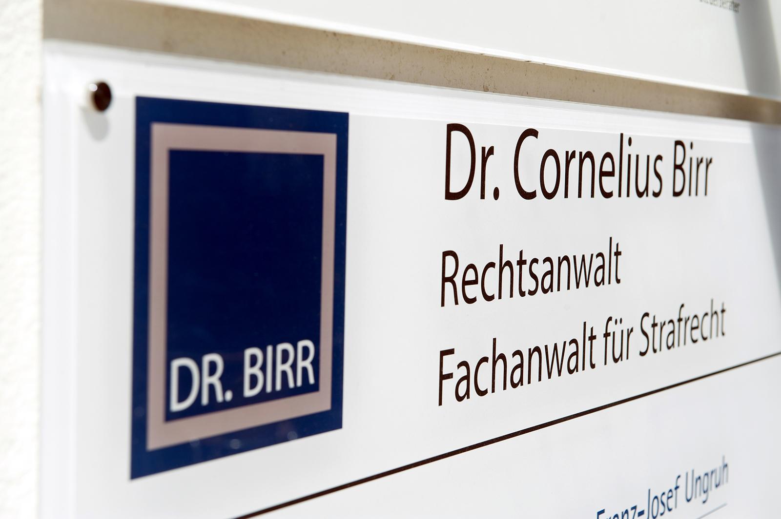 Rechtsanwalt Dr. Cornelius Birr
