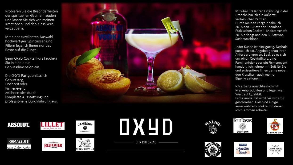 Oxyd Bar Catering