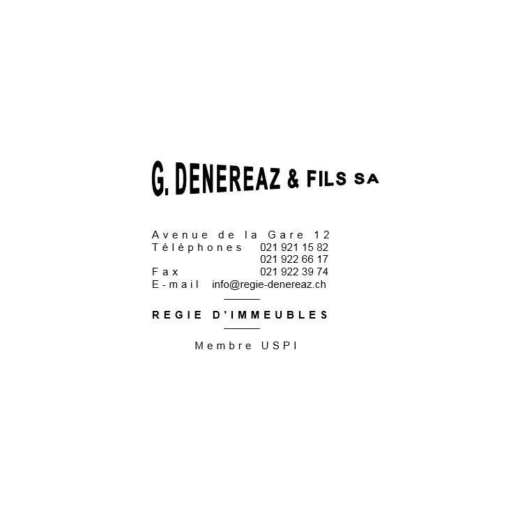 Dénéréaz G. et Fils SA