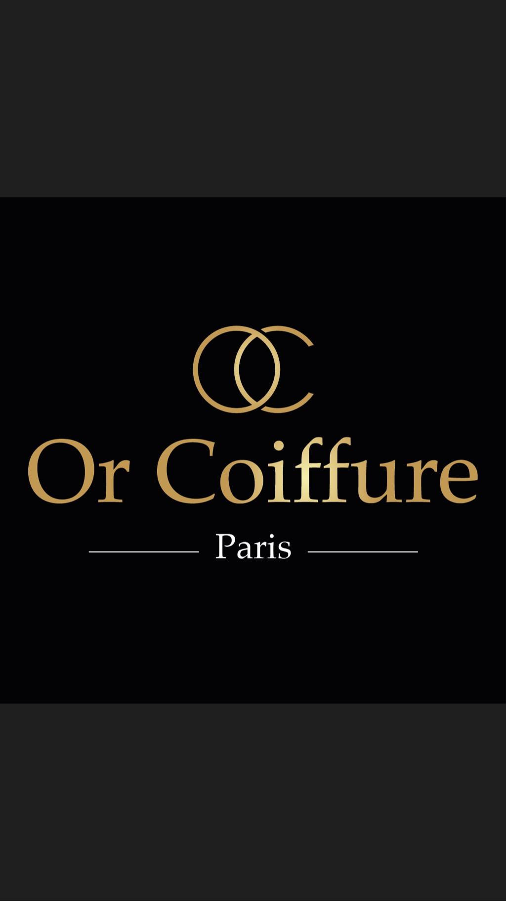 or coiffure Logo