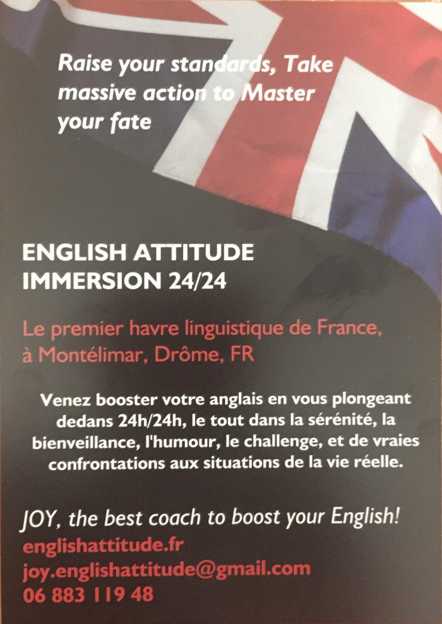 ENGLISH ATTITUDE IMMERSION 24/24