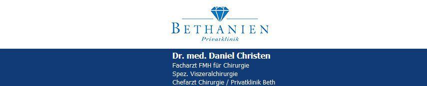 Dr. med. Daniel Christen