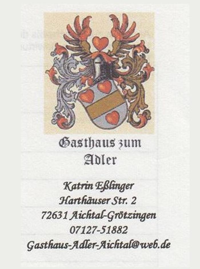 Bild zu Gasthaus zum Adler in Aichtal