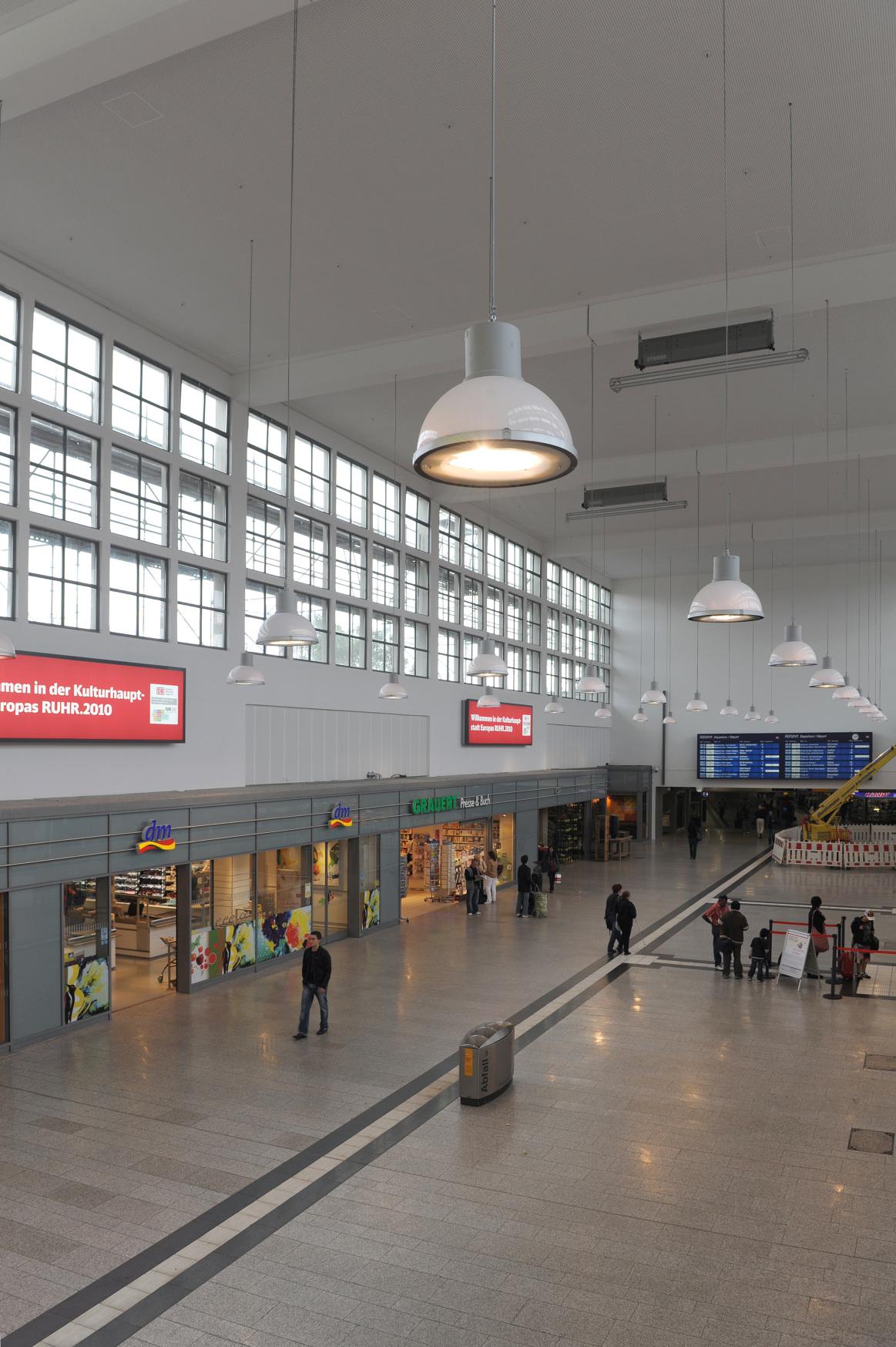 Einkaufsbahnhof Duisburg Hbf