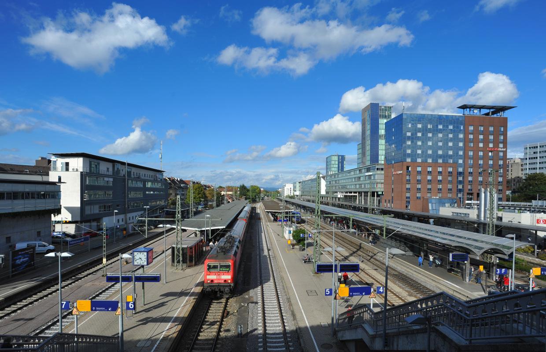 Einkaufsbahnhof Freiburg Hbf