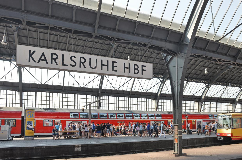 Einkaufsbahnhof Karlsruhe Hbf