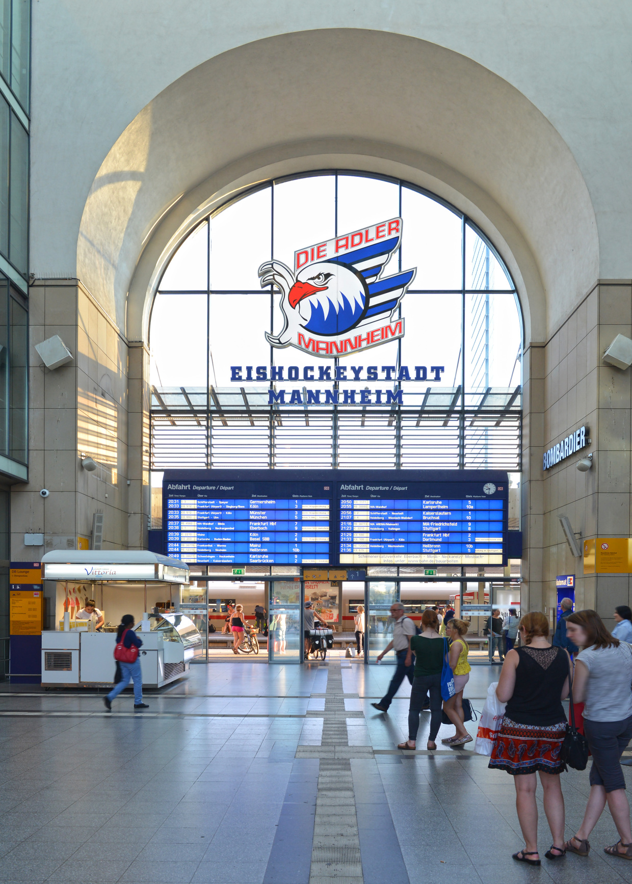 Einkaufsbahnhof Mannheim Hbf