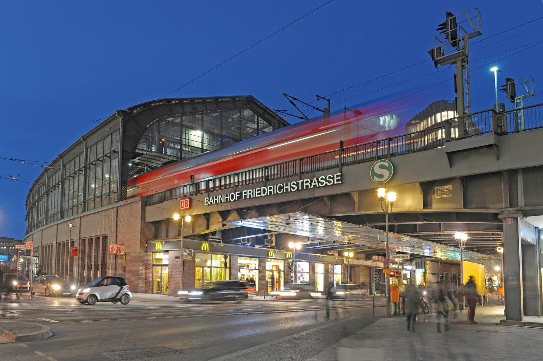 Einkaufsbahnhof Berlin Friedrichstrasse
