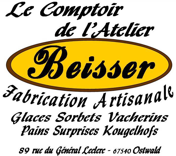 Comptoir de l'Atelier Beissder glacier