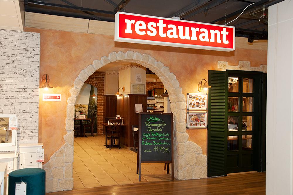 XXXLutz Restaurant im Einrichtungshaus Klagenfurt