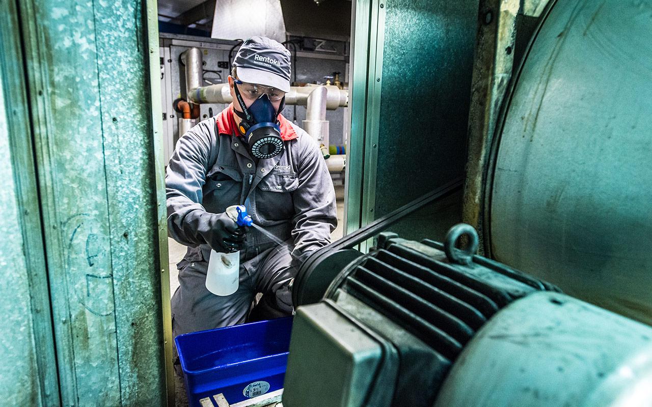 Rentokil Technischer Hygieneservice Frankfurt