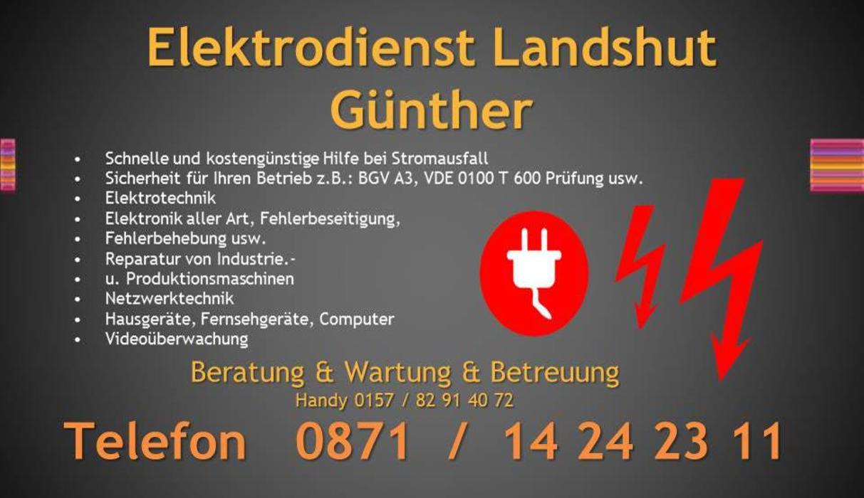 Bild zu Elektrodienst Landshut Günther in Landshut