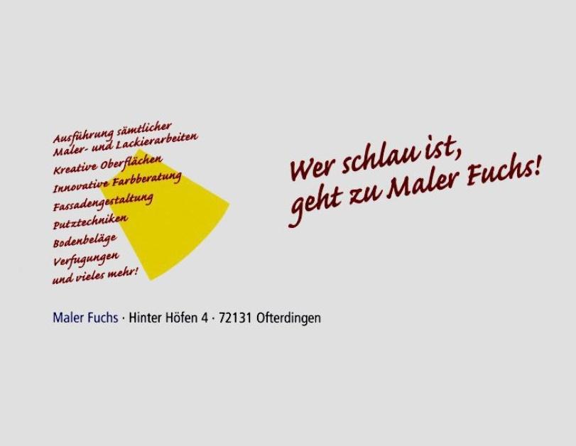 Maler Fuchs