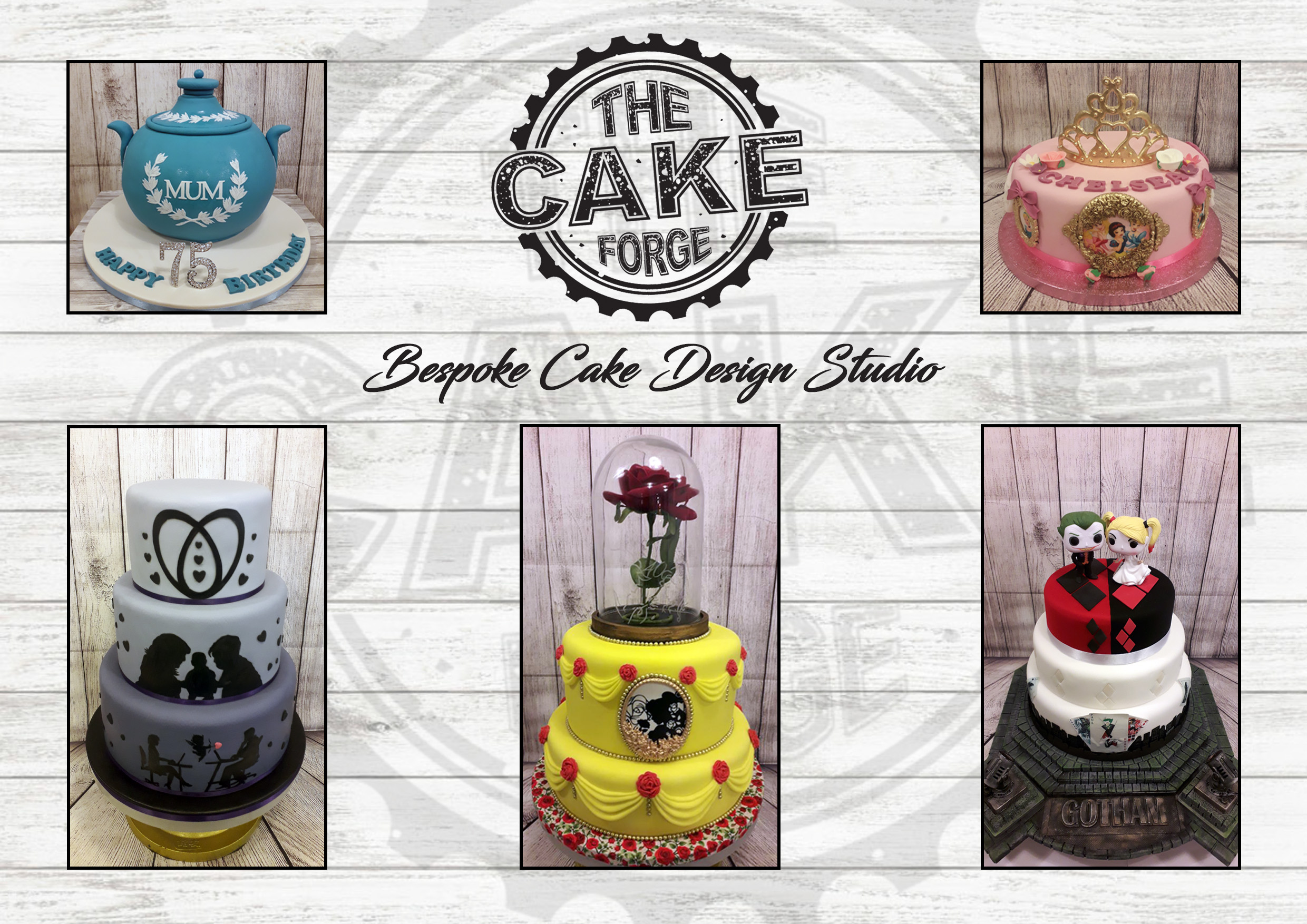 The Cake Forge - Salisbury, Wiltshire SP1 1BD - 01722 239249 | ShowMeLocal.com