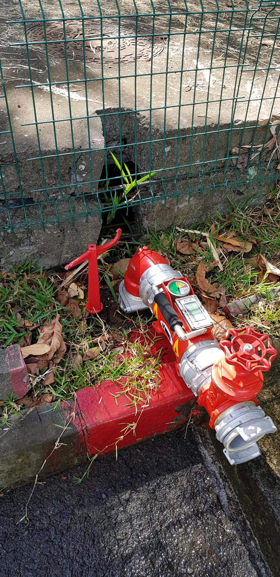 Controle Hydrant Réunion