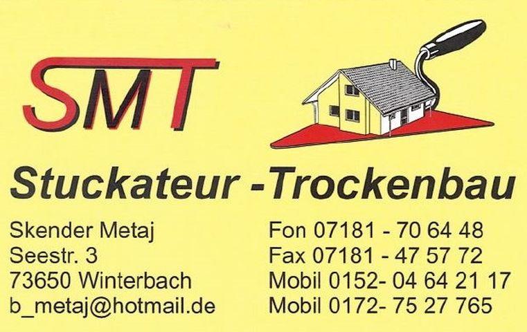 SMT Stuckateur & Trockenbau GmbH